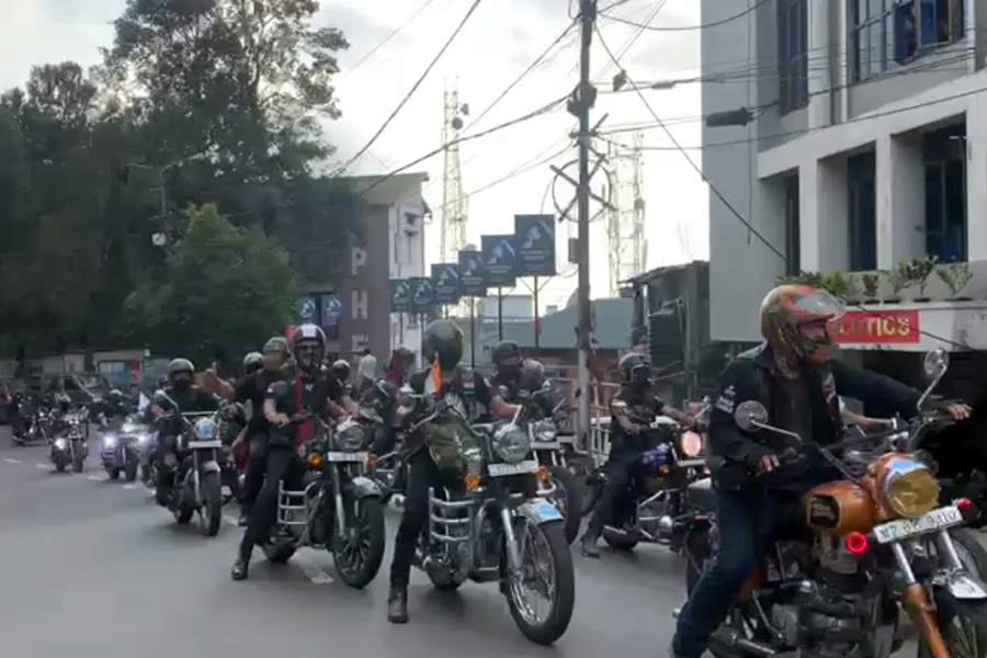 Lalremsiami riders welcome